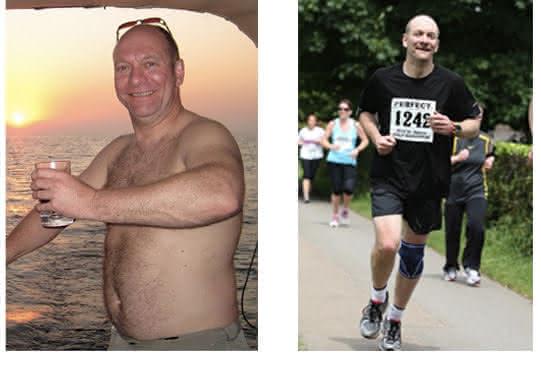 Slanke fitte marathonloper door Minder Koolhydraten