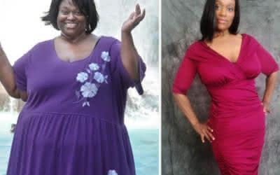 Veronica woog ruim 200 kg en is nu gezond en slank!