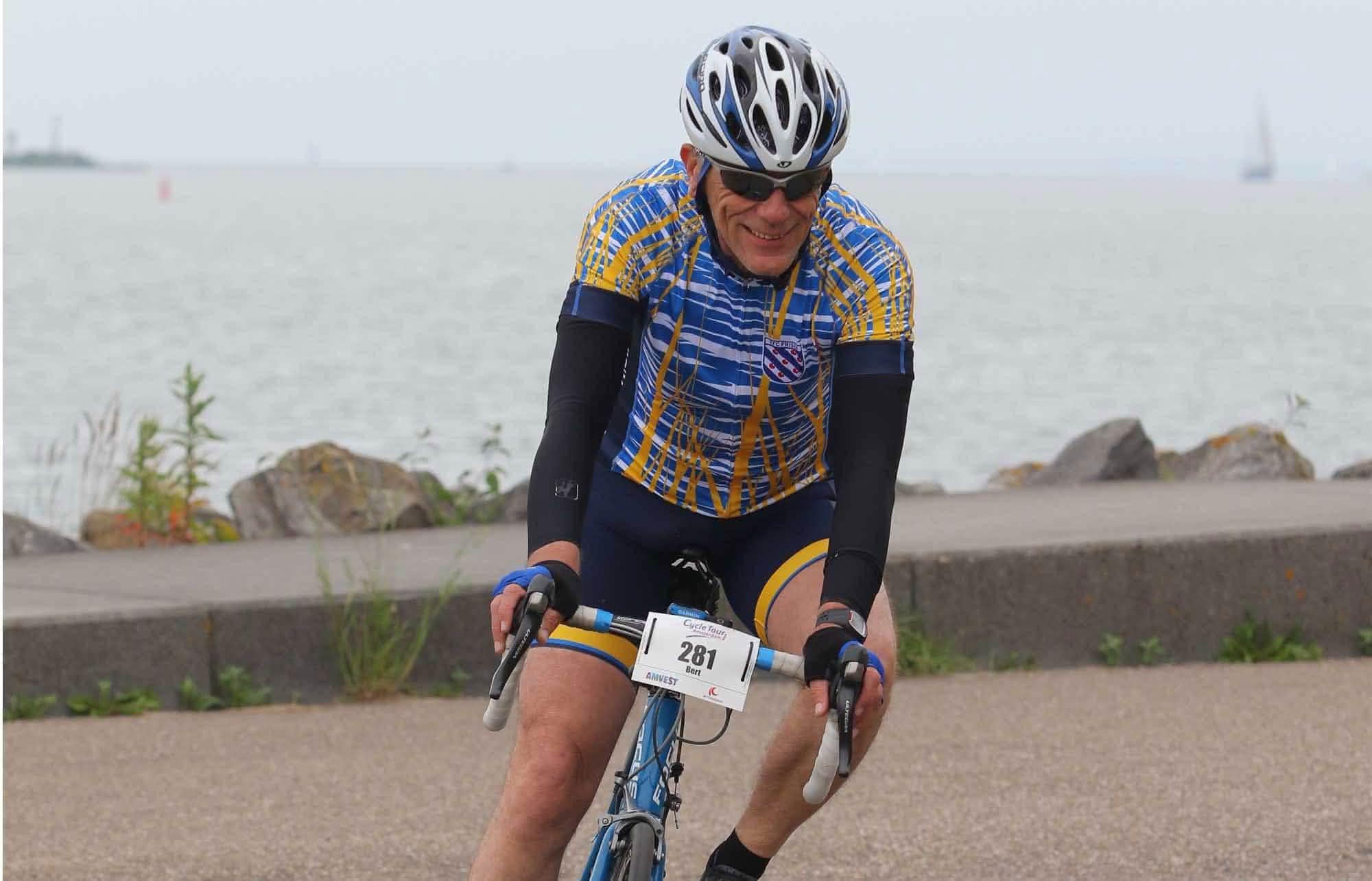 Bert fietst beter dan ooit na schrappen koolhydraten