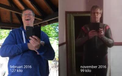 Timo (56) was prediabeet en viel bijna 30 kilo af