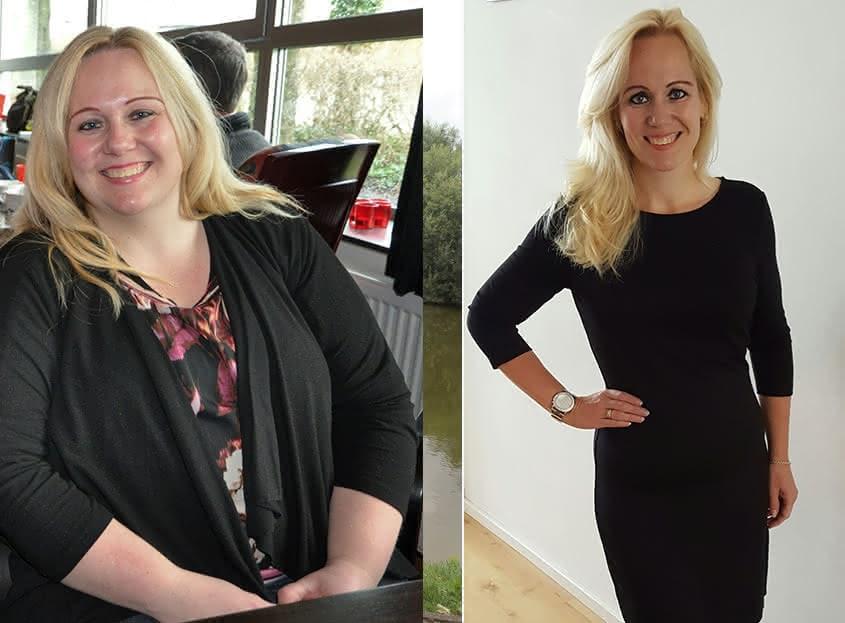 Patricia (39) valt 60 kilo af met een keto aanpak