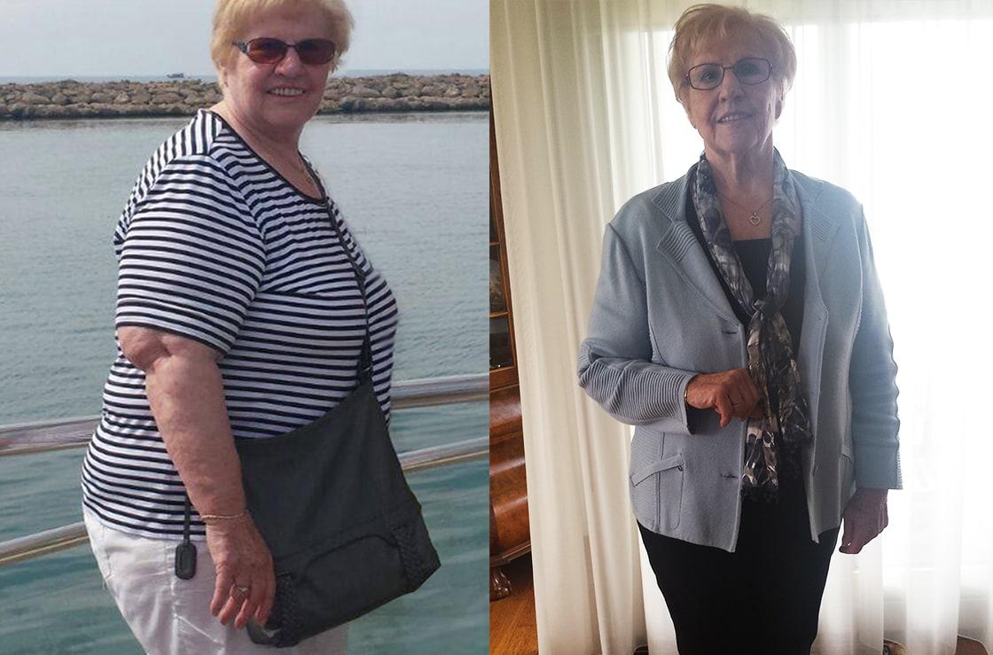 Na een leven lang lijnen valt Martha (75) nu eindelijk écht af!