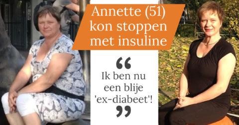 Wijkverpleegster Annette (51) is nu een 'blije ex-diabeet'