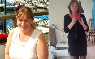 Ik werd steeds dikker ondanks al dat lijnen!