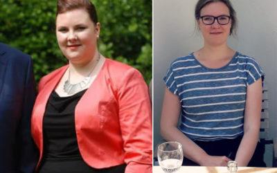 Verpleegkundige Lara valt ruim 40 kilo af