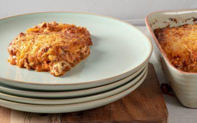 Lasagne van pompoen