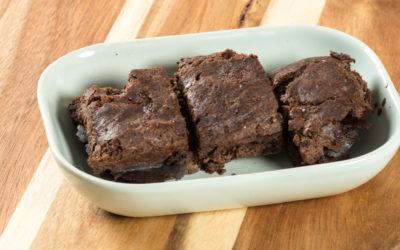 Chocolade fudgecake (zonder meel of noten)