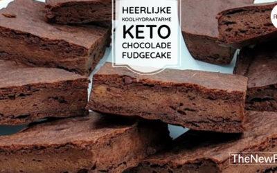 Fudgecake zonder meel of noten