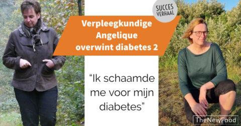 Verpleegkundige Angelique versloeg diabetes 2