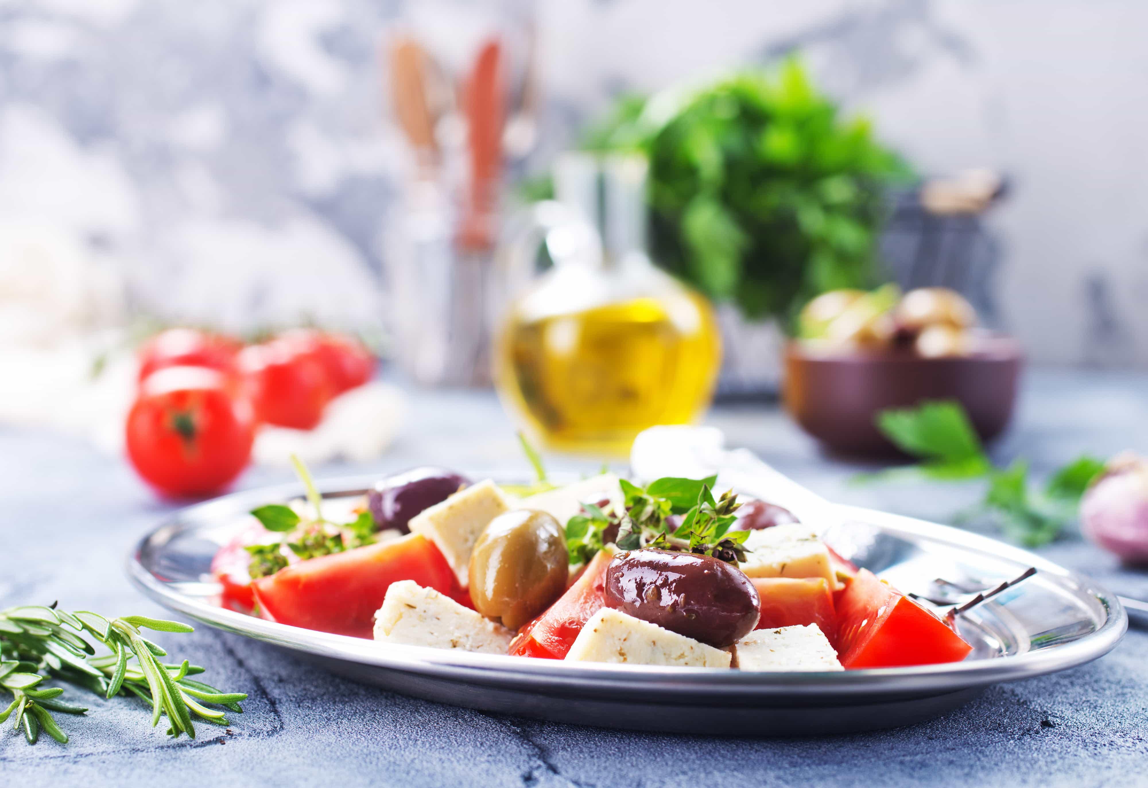 Koolhydraatarm/keto uit eten bij de Griek