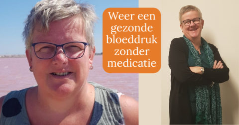 Marleen heeft weer een gezonde bloeddruk!