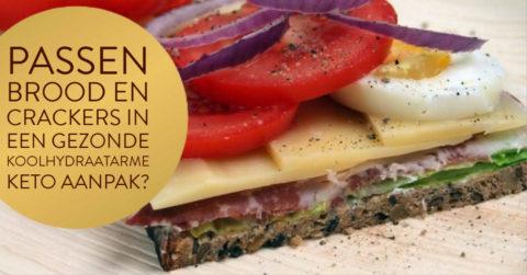 Brood en crackers binnen je koolhydraatarme/keto menu