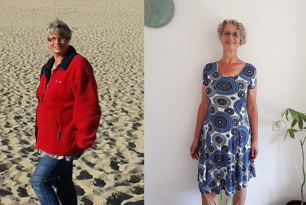 Vervette lever genezen en 27 kilo lichter