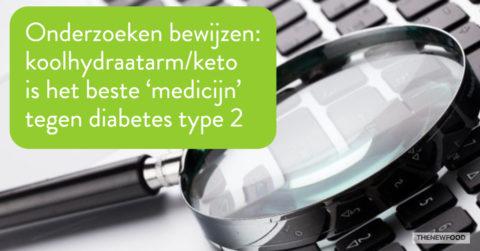 Onderzoeken effect keto bij diabetes 2