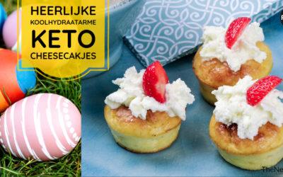 Feestelijke gebakjes: cheesecakejes