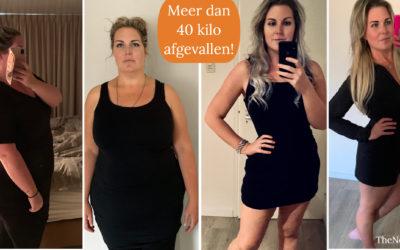 Ramona (33) viel ruim 40 kilo af!