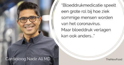 Corona en hoge bloeddrukmedicatie