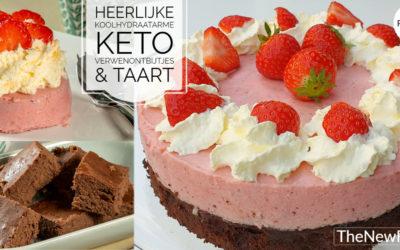 Koolhydraatarme/keto verwenontbijtjes & taart