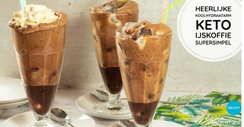 Romige koolhydraatarme/keto ijskoffie