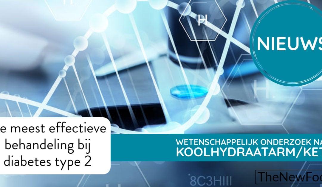 Onderzoek: Koolhydraatarm beste optie diabetes 2-behandeling