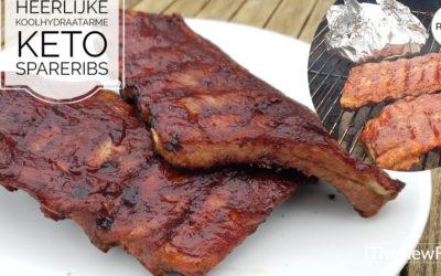 Spareribs voor barbecue of oven