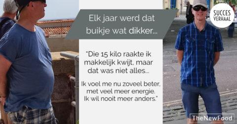 Willem Jan wilde van zijn buikje af