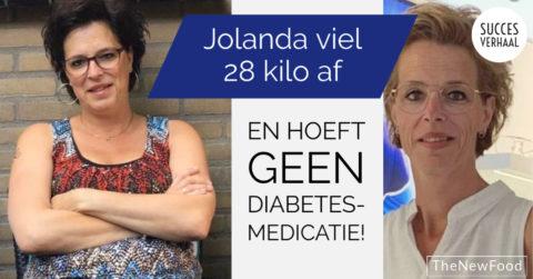 Jolanda (49) had te hoge bloedsuikers