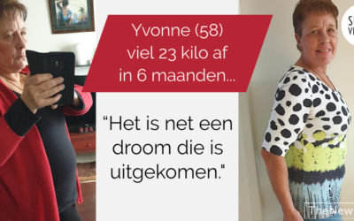 Yvonne (58) viel 23 kilo af
