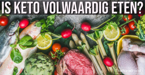 Is koolhydraatarm/keto volwaardig eten?