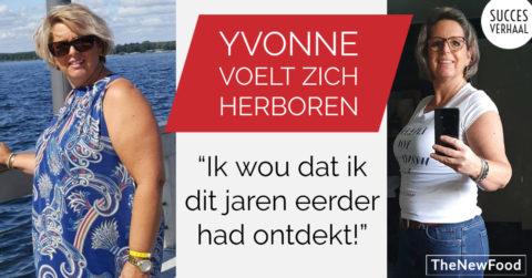Yvonne voelt zich herboren