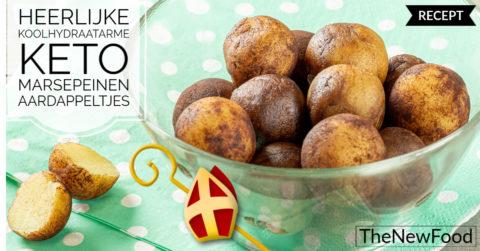 Keto aardappeltjes van marsepein