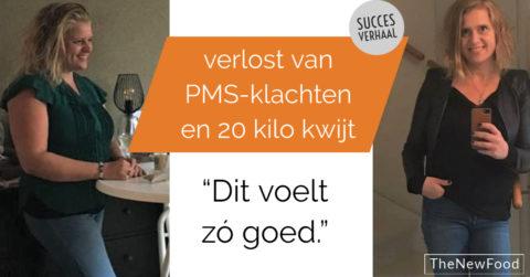 Verlost van heftige PMS klachten