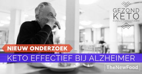 Keto effectief bij Alzheimer