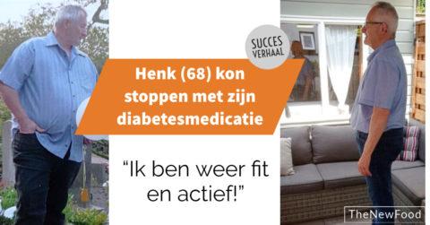 Henk kon zijn diabetes 2 stoppen